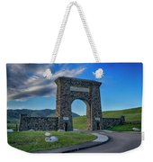 Roosevelt Arch At Yellowstone Dsc2522_05252018 Weekender Tote Bag