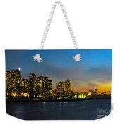Roosevelt Island 1 New York Weekender Tote Bag