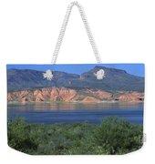 Roosevelt Lake - Panoramic Weekender Tote Bag