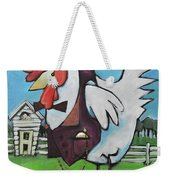 Rooster And Hen House Weekender Tote Bag