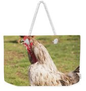 Rooster Crowing Weekender Tote Bag
