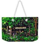 Rooster Hollow Weekender Tote Bag