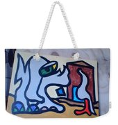 Rooster House Amazement No Head Weekender Tote Bag