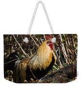 Rooster Protecting Hen Weekender Tote Bag
