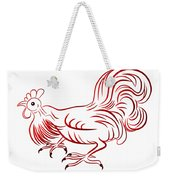 Rooster - Sign Of Chinese New Year Weekender Tote Bag
