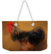 Rooster Strut Weekender Tote Bag