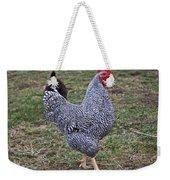 Rooster Strutting Weekender Tote Bag