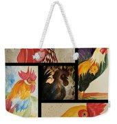 Roosters Weekender Tote Bag