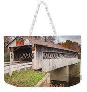 Root Rd Covered Bridge  Weekender Tote Bag