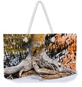 Roots Gripping The Edge Weekender Tote Bag