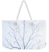 Roots Of A Tree In Blue Weekender Tote Bag
