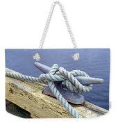 Rope And Bollard Weekender Tote Bag