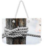 Rope Fence Fragment Weekender Tote Bag