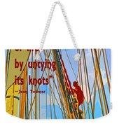 Rope Of Life Weekender Tote Bag