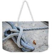 Rope On Cleat Weekender Tote Bag