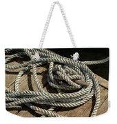 Rope On The Dock Weekender Tote Bag