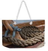 Eagle Shackle And Line Weekender Tote Bag