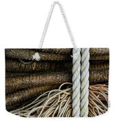 Ropes And Fishing Nets Weekender Tote Bag by Carol Leigh