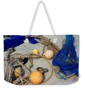 Ropes Nets And Bouys Weekender Tote Bag