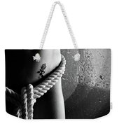 Ropes Over Nude Woman Body Weekender Tote Bag