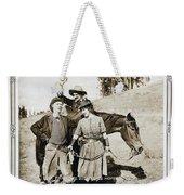 Roping Her Romeo 1919 Weekender Tote Bag