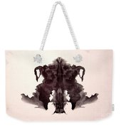 Rorschach Test Card No. 4 Weekender Tote Bag