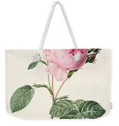 Rosa Centifolia Weekender Tote Bag by Pierre Joseph Redoute