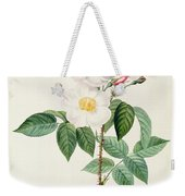 Rosa Damascena Subalba Weekender Tote Bag