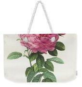 Rosa Gallica Flore Giganteo Weekender Tote Bag