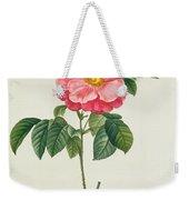 Rosa Gallica Flore Marmoreo Weekender Tote Bag