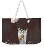 Rosa Rosae Weekender Tote Bag by Guido Borelli