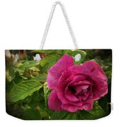Rosa Rugosa Art Photo Weekender Tote Bag