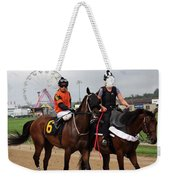 Rosario Montanez - Ticker Tape Parade - Timonium Weekender Tote Bag