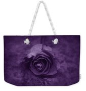 Rose - Purple Weekender Tote Bag