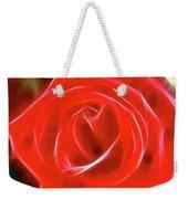 Rose-5827-fractal Weekender Tote Bag