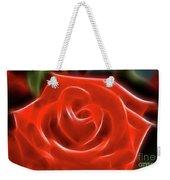 Rose-5845-fractal Weekender Tote Bag