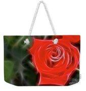 Rose-5890-fractal Weekender Tote Bag