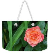 Rose And Day Lily Lives Weekender Tote Bag