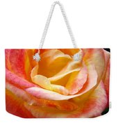 Rose Art Pink Yellow Summer Rose Floral Baslee Troutman Weekender Tote Bag