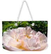 Rose Art Prints Canvas Sunlit Pink Rose Garden Baslee Troutman Weekender Tote Bag