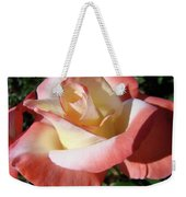 Rose Artwork Floral Pink White Roses Baslee Troutman Weekender Tote Bag