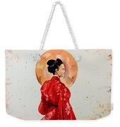 Rose Asia Weekender Tote Bag