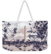 Rose Blossom Monument Weekender Tote Bag