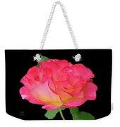 Rose Blushing Cutout Weekender Tote Bag