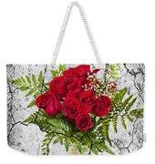 Rose Bouquet Weekender Tote Bag