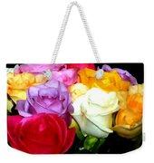 Rose Bouquet Painting Weekender Tote Bag