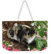 Rose Bower For A Cat Weekender Tote Bag