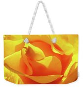 Rose Bright Orange Sunny Rose Flower Floral Baslee Troutman Weekender Tote Bag