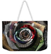 Rose - Collaged Petals Weekender Tote Bag