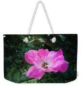 Rose Dew Weekender Tote Bag